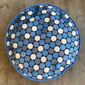 DOG BED VINTAGE BLUE DOT